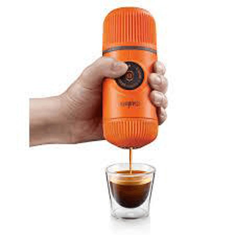 WACACO Nanopresso - Hand Powered Espresso Machine for Ground Coffee ORANGE