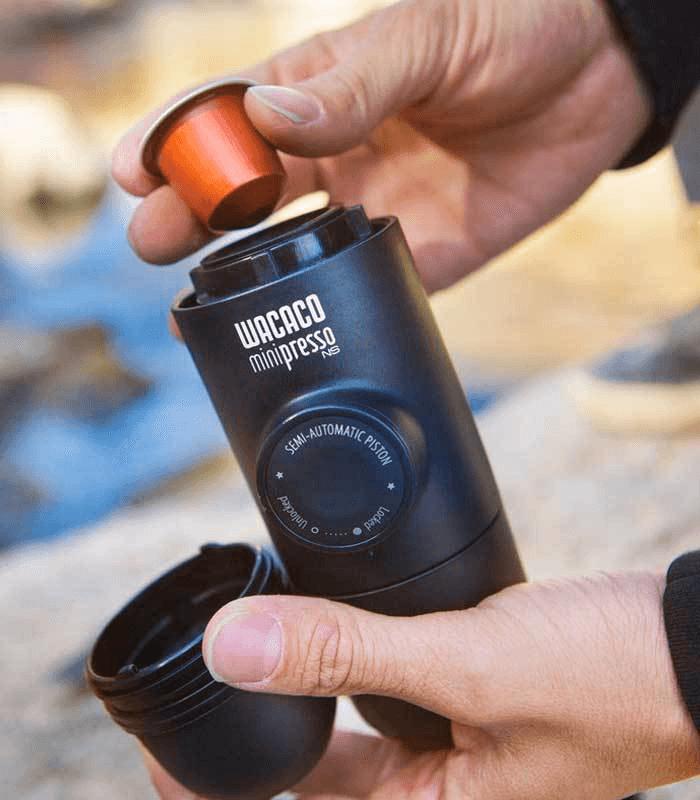 WACACO Minipresso - Hand Powered Espresso Machine for Nespresso