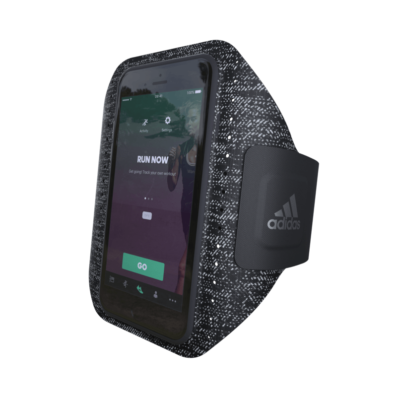 ADIDAS SPORTS Armband Black for iPhone 8/7/6 Plus
