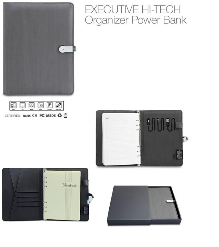 Organizer With Powerbank And Usb