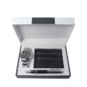 Luxury Watch, Pen & Wallet Gift Set