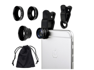 3-in-1 Universal Clip Camera Lens