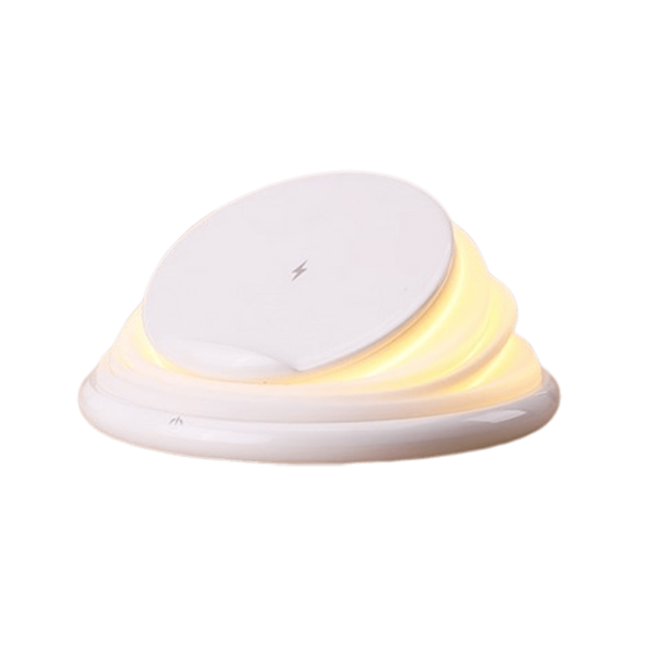 Wireless Charger with Night Light and Mobile Stand