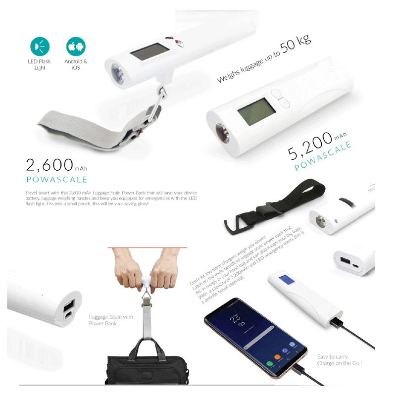 Luggage Scale with Power Bank