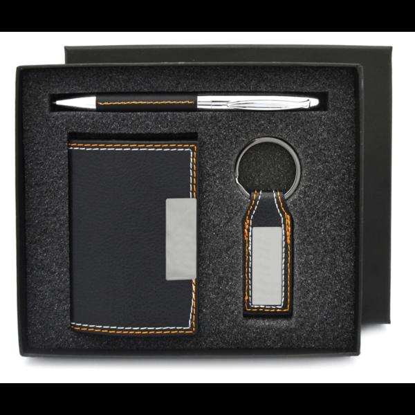 Pen, Keychain & Card Holder