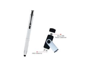 Stylish Pen & Usb 8gb Gift Set