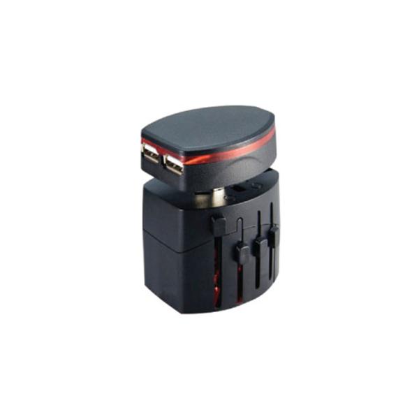 Universal Travel Adapter - Black