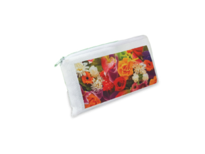 Children Gift Pencil Pouch White