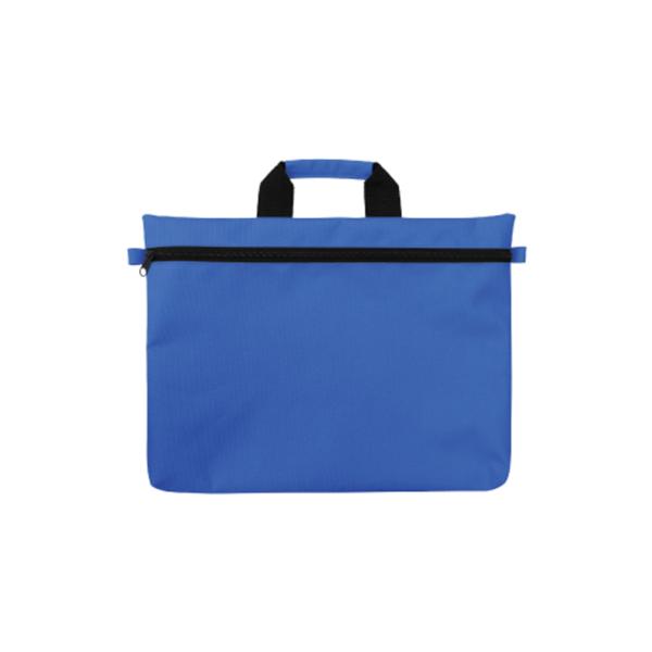Promotional Document Bags - Blue Color