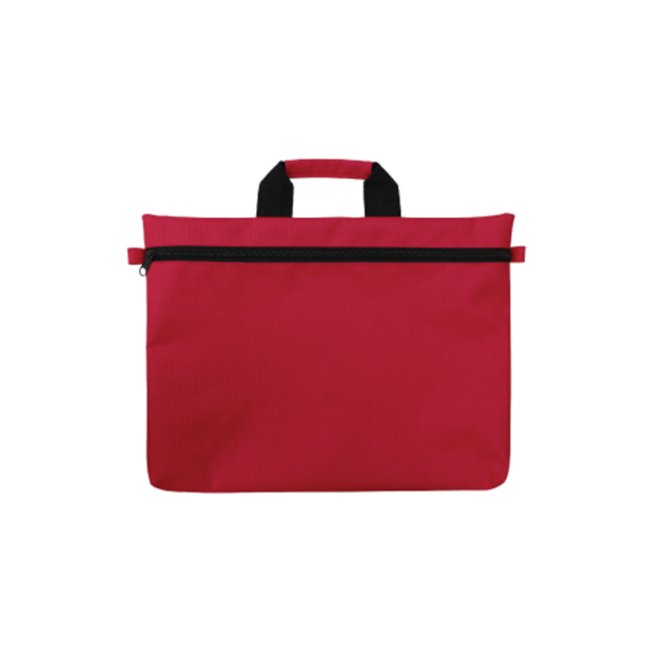 Promotional Document Bags - Red Color