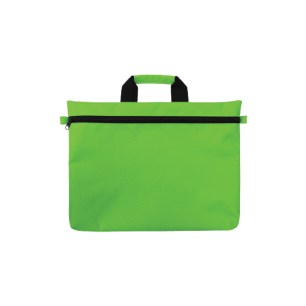 Promotional Document Bags - Green Color