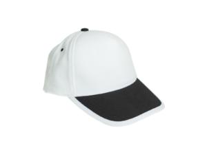 Cotton Caps White and Black