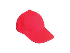 Cotton Caps Red Color