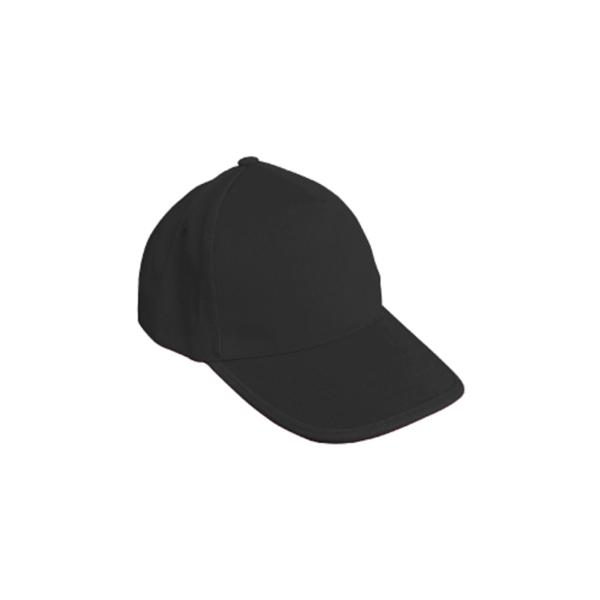 Cotton Caps Black Color