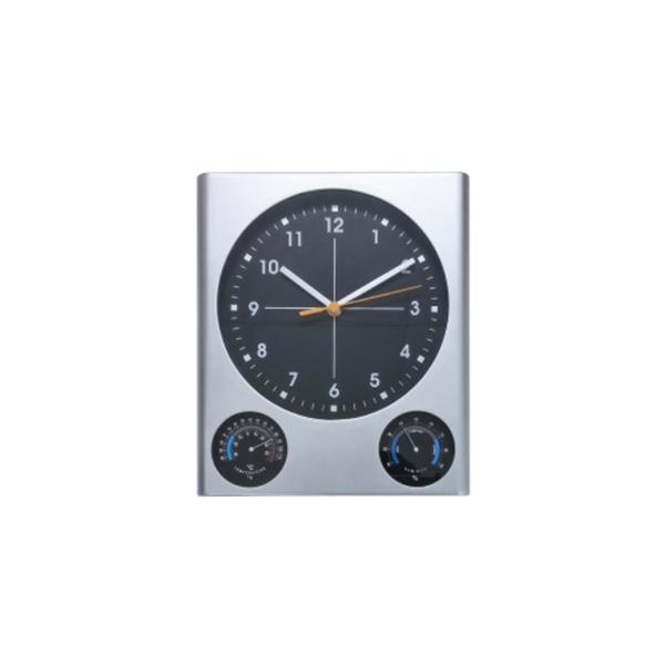 Promotional Wall Clocks - Silver