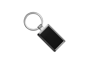 Metal Keychains Black