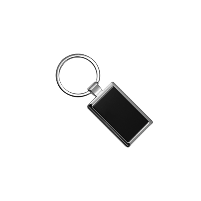 Metal Keychains Black