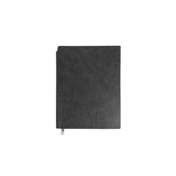 A5 Size PU Leather Notebooks Grey