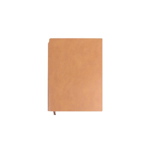 A5 Size PU Leather Notebooks Beige