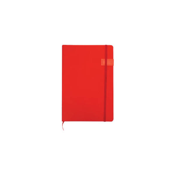 Notebook with USB Flash Chip Red Color