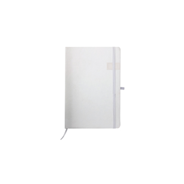 Notebook with USB Flash Chip White Color