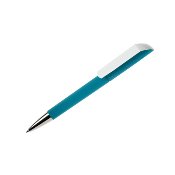 Corporate Gifts Pen Maxema Flow Aqua Green