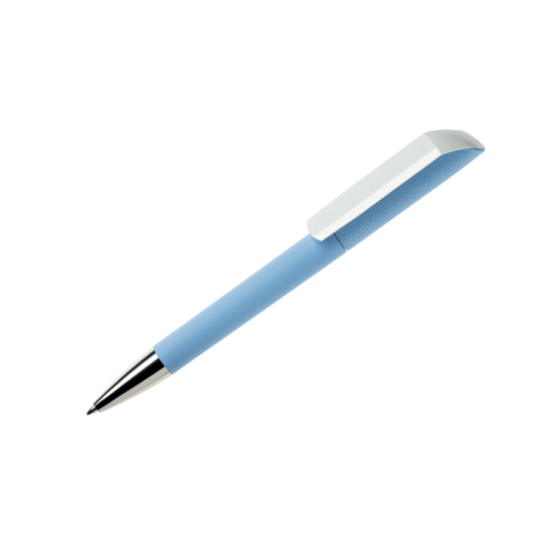 Corporate Gifts Pen Maxema Flow Sky Blue
