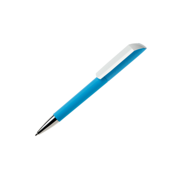 Corporate Gifts Pen Maxema Flow Arctic Blue