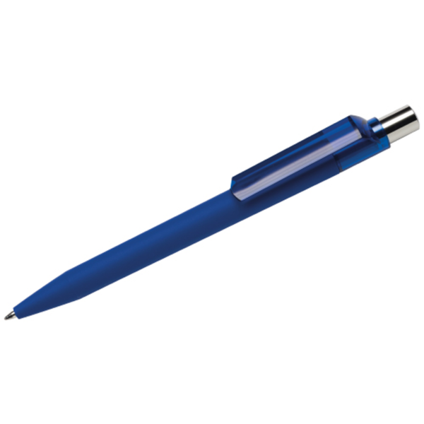 Maxema Rubberised Italian Pen- Dark Blue