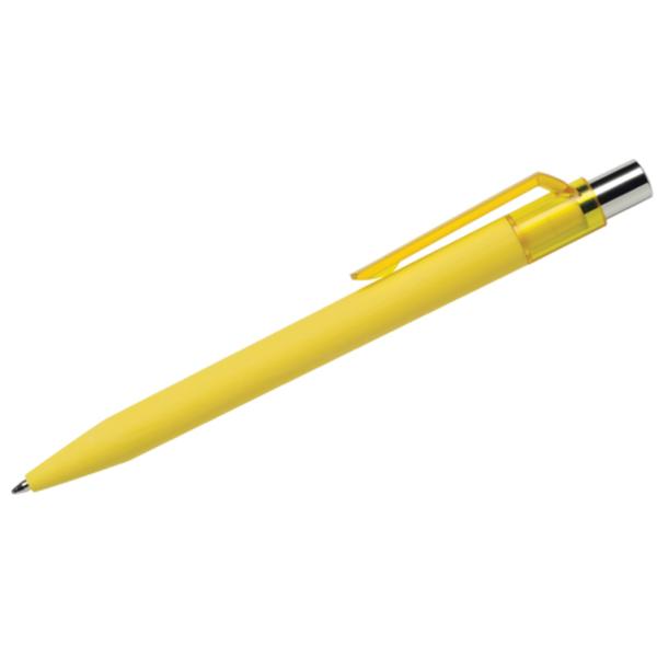 Maxema Rubberised Italian Pen- Yellow