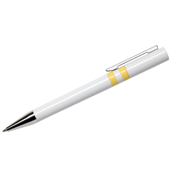 Maxema Ethic Pen - White and Yellow