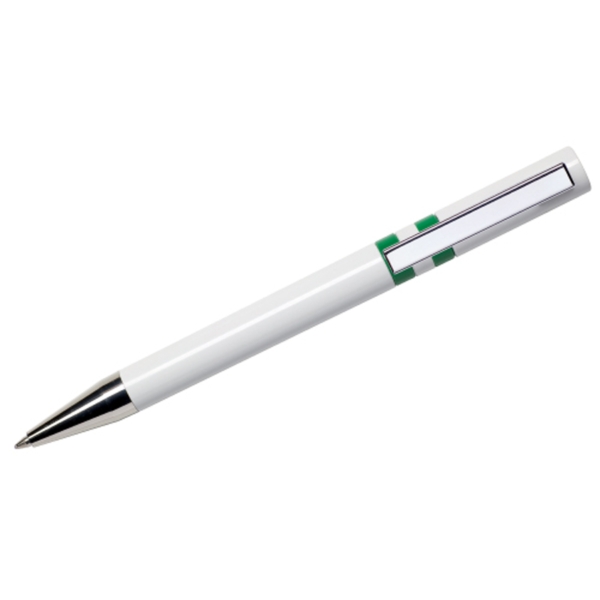 Maxema Ethic Pen - White and Green