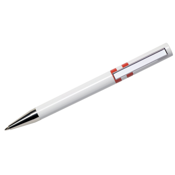 Maxema Ethic Pen - White and Red