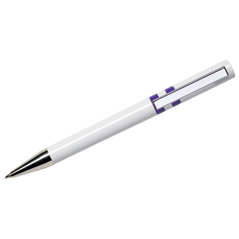 Maxema Ethic Pen - White and Purple
