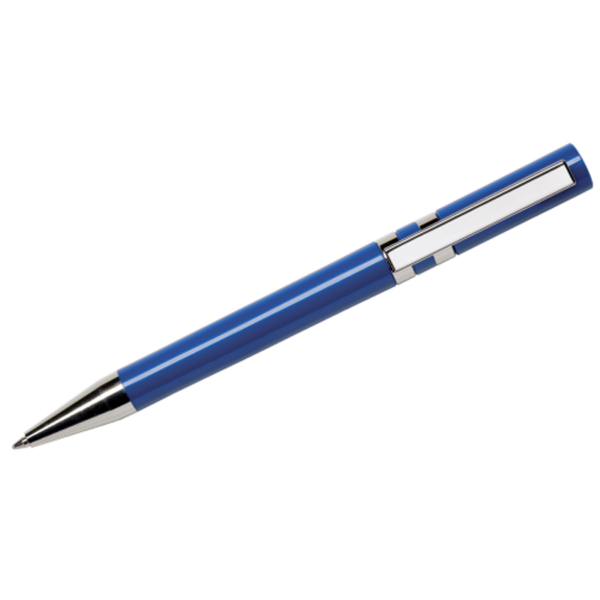 Maxema Ethic Pen - Navy Blue with Chrome Clip