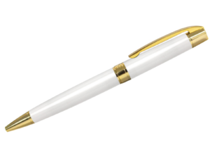 Dorniel Designs Metal Pen White