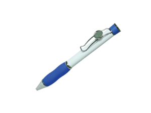 Metal Logo Pens - Blue Color