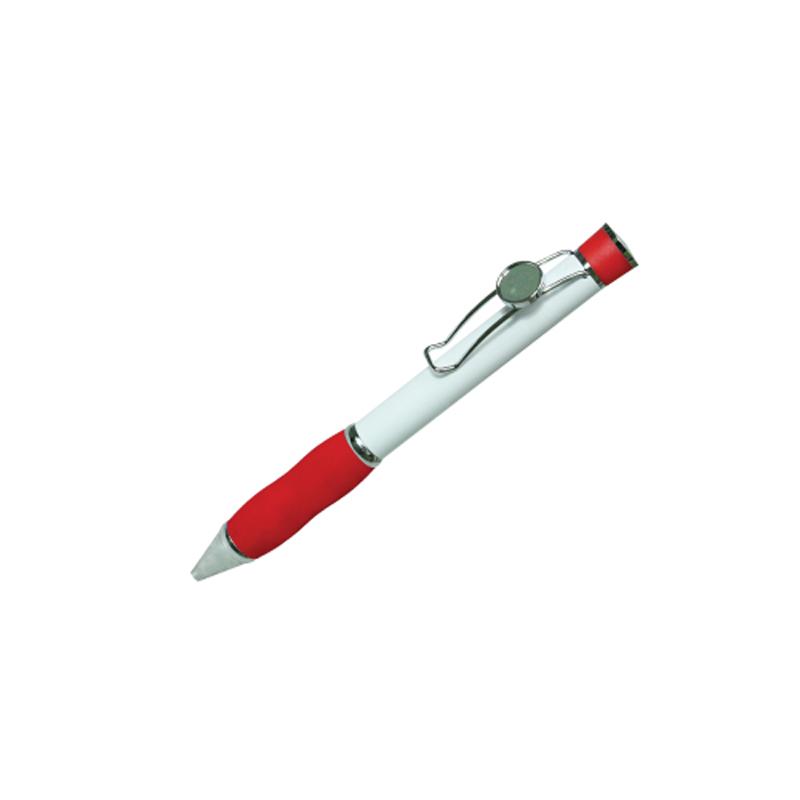 Metal Logo Pens - Red Color