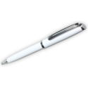 Custom logo Metal Pens – White