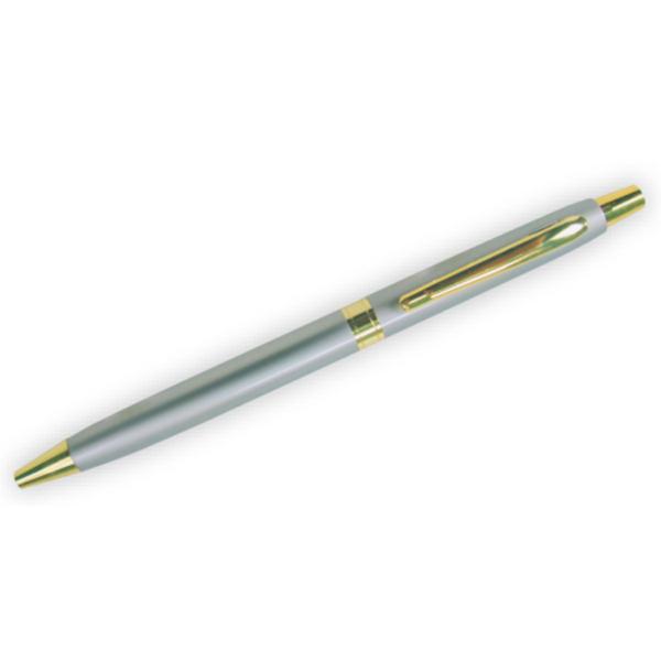 Thin Silver Gold Metal Pen