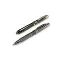 Metal pens with light and touch pad