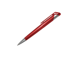 Branded Plastic Pens - Red