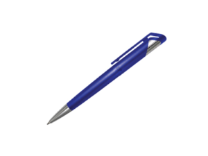 Branded Plastic Pens - Blue