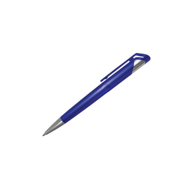 Branded Plastic Pens - Blue