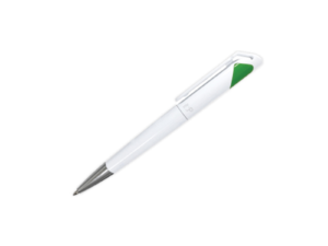Branded Plastic Pens - Green