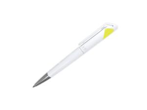 Branded Plastic Pens - Yellow