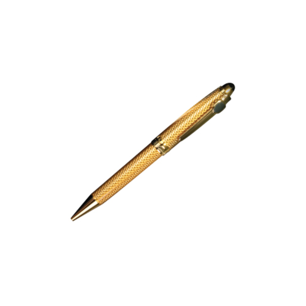 Metal Ball Pens Raphael Brand Gold color with Box