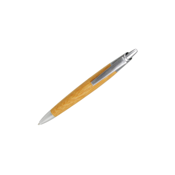 Bamboo Pen with Silver Edges
