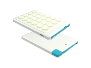 Card Size Power Bank with Suction Cups and Box