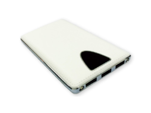Power Bank 8000-mAh White Color